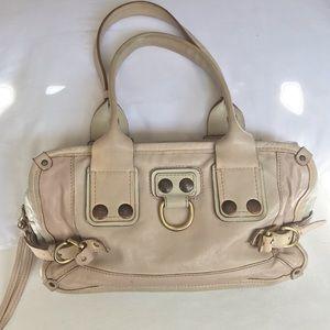 Chloe blush cream handbag